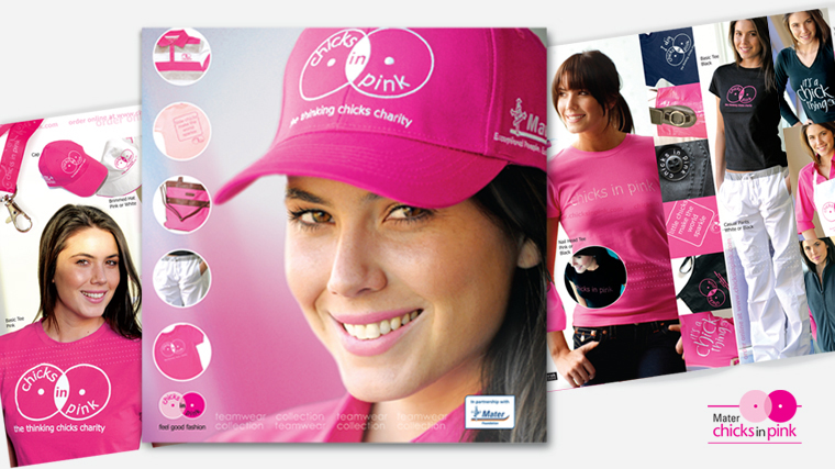 Chicks in Pink print catalogue
